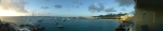 Panorama shot from St. Maarten hotel.