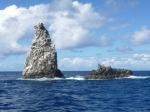 These are the dive sites to ask fro! Diamond Rock on the left, and Man Of War Shoals on the right.