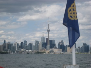 Toronto skyline from the Canada Day Cruise