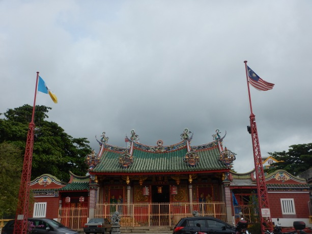 Ong Clan Temple, right across from Komtar and right behind our hotel, in Penang.