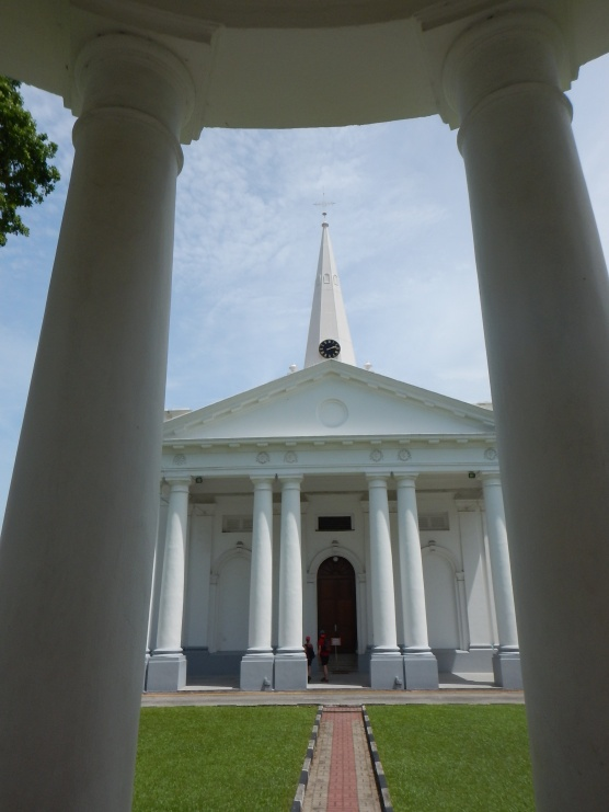 St George's church in Penang.