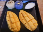 Mango sticky rice!
